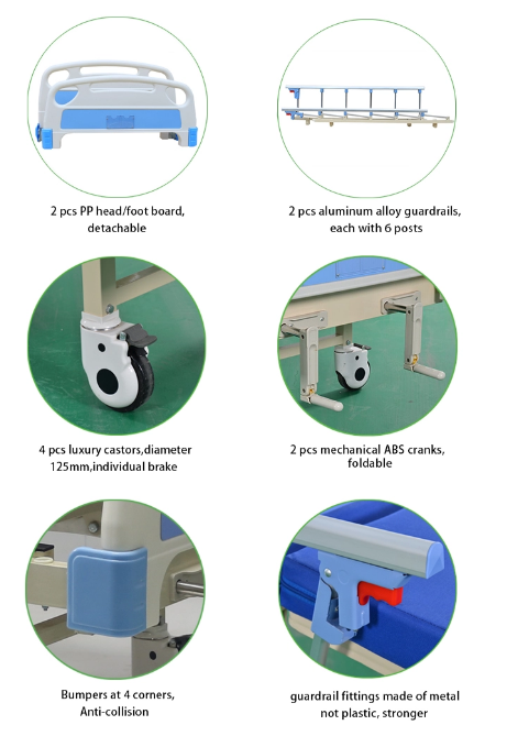 accessories of hospital bed supplies